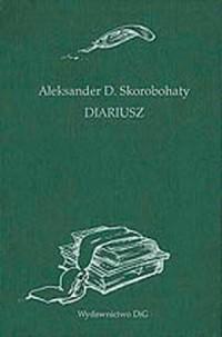 Diariusz - okładka książki