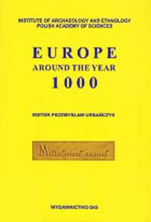 Europe around the year 1000 - okładka książki