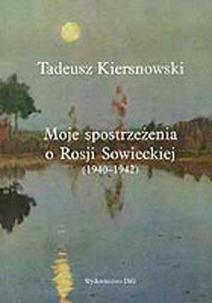 Moje spostrzeżenia o Rosji Sowieckiej - okładka książki