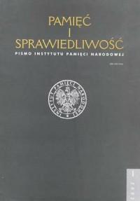 Pamięć i sprawiedliwość nr 1/2002 - okładka książki