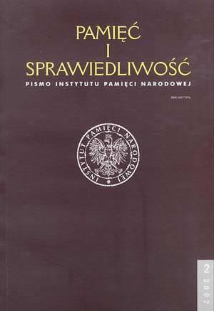 Pamięć i sprawiedliwość nr 2/2002 - okładka książki