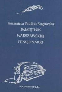 Pamiętnik warszawskiej pensjonarki - okładka książki