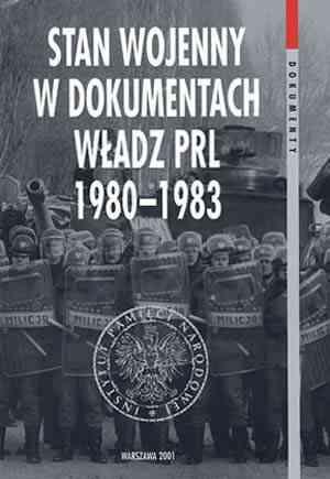 Stan wojenny w dokumentach władz - okładka książki