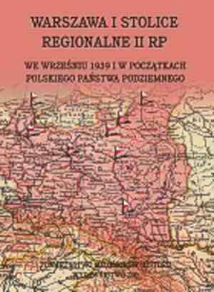 Warszawa i stolice regionalne we - okładka książki