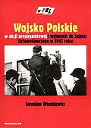 Wojsko Polskie w akcji propagandowej - okładka książki