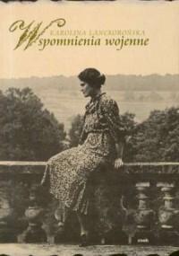Wspomnienia wojenne - okładka książki