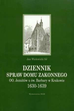 Dziennik spraw domu zakonnego. - okładka książki