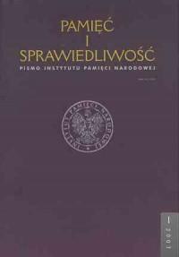 Pamięć i sprawiedliwość nr 1/2003 - okładka książki