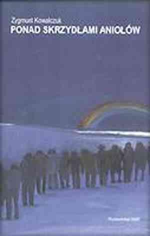 Ponad skrzydłami aniołów - okładka książki