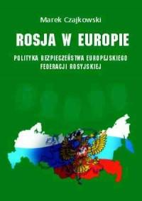 Rosja w Europie - okładka książki