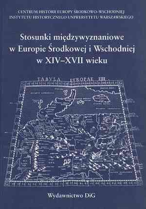 Stosunki międzywyznaniowe w Europie - okładka książki