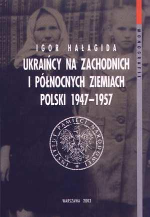 Ukraińcy na Zachodnich i północnych - okładka książki