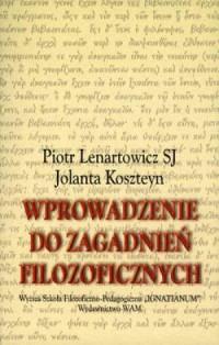Wprowadzenie do zagadnień filozoficznych - okładka książki
