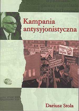 Kampania antysyjonistyczna w Polsce - okładka książki