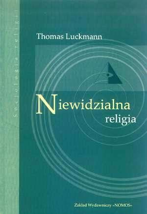 Niewidzialna religia - okładka książki