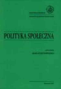 Polityka społeczna - okładka książki