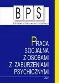 Praca socjalna z osobami z zaburzeniami - okładka książki
