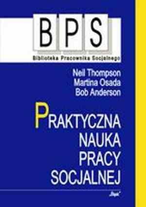 Praktyczna nauka pracy socjalnej. - okładka książki