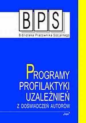 Programy profilaktyki uzależnień. - okładka książki
