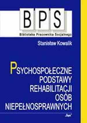 Psychospołeczne podstawy rehabilitacji - okładka książki