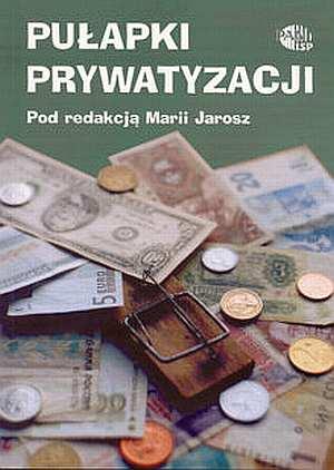 Pułapki prywatyzacji - okładka książki