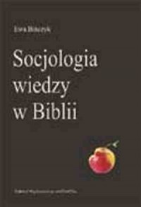 Socjologia wiedzy w Biblii - okładka książki