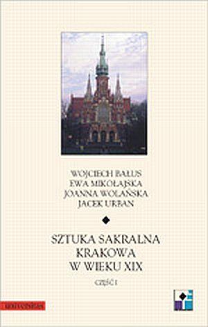 Sztuka sakralna Krakowa w wieku - okładka książki