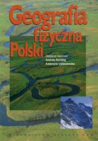 Geografia fizyczna Polski - okładka książki