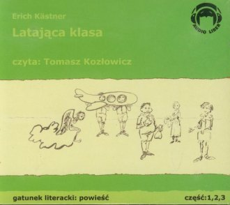 Latająca klasa (CD) - pudełko audiobooku