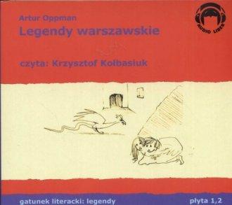Legendy warszawskie (CD) - pudełko audiobooku