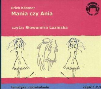 Mania czy Ania (CD) - pudełko audiobooku