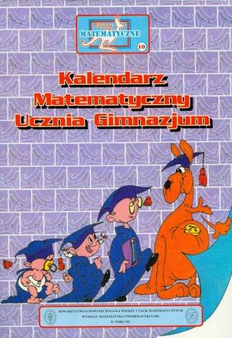 Miniatury matematyczne 10. Kalendarz - okładka podręcznika