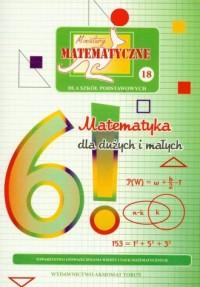 Miniatury matematyczne 18. Matematyka - okładka podręcznika