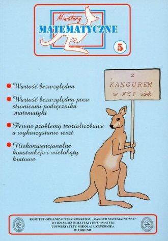 Miniatury matematyczne 5. Szkoły - okładka podręcznika