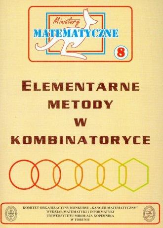 Miniatury matematyczne 8. Elementarne - okładka książki