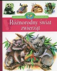Różnorodny świat zwierząt - okładka książki