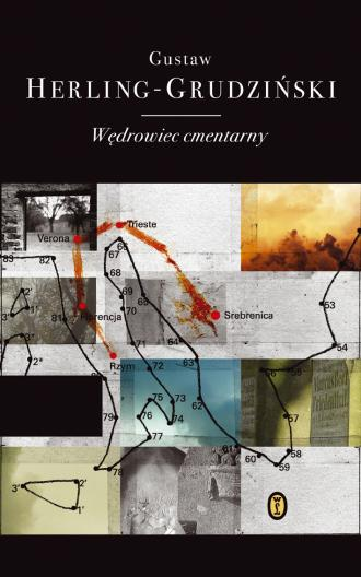 Wędrowiec cmentarny - okładka książki