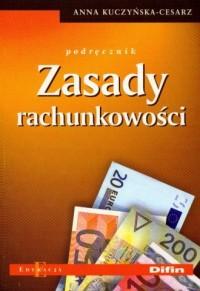 Zasady rachunkowości. Podręcznik - okładka książki