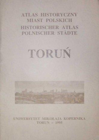 Atlas historyczny miast polskich - okładka książki