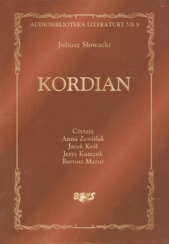 Kordian (CD) - pudełko audiobooku