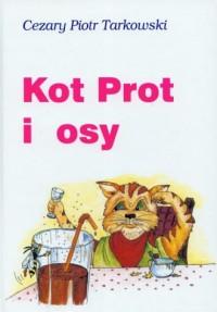 Kot Prot i osy - okładka książki