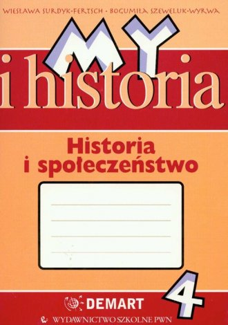 My i historia. Historia i społeczeństwo. - okładka podręcznika