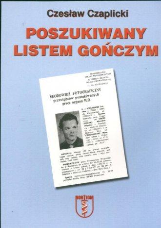 Poszukiwany listem gończym - okładka książki