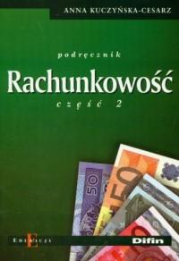 Rachunkowość cz. 2 - okładka książki