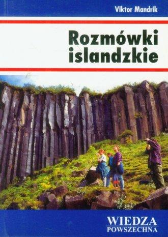 Rozmówki islandzkie - okładka książki