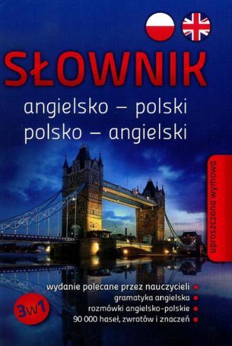 Słownik angielsko - polski, polsko - okładka książki