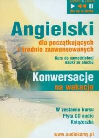 Angielski. Konwersacje na wakacje dla początkujących i średnio zaawansowanych (CD) - okładka podręcznika