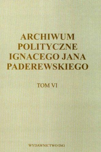 Archiwum polityczne Ignacego Jana - okładka książki