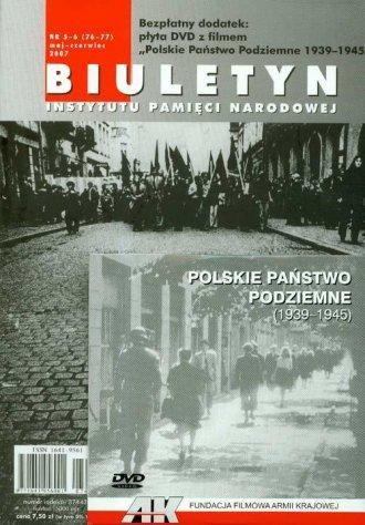 Biuletyn IPN nr 05-06 (76-77)/2007 - okładka książki