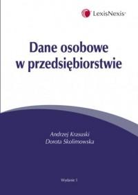 Dane osobowe w przedsiębiorstwie - okładka książki